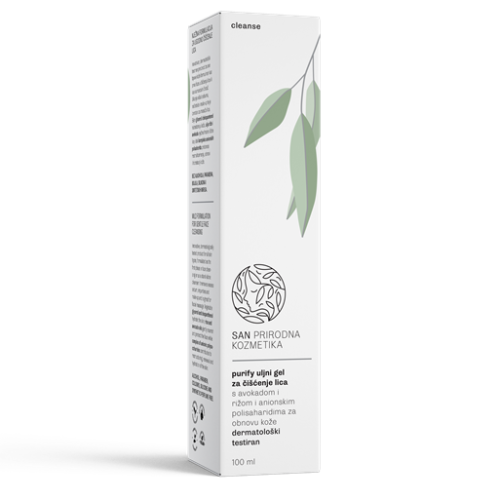 gel za čišćenje lica